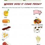 Smart Kids Worksheets: Food